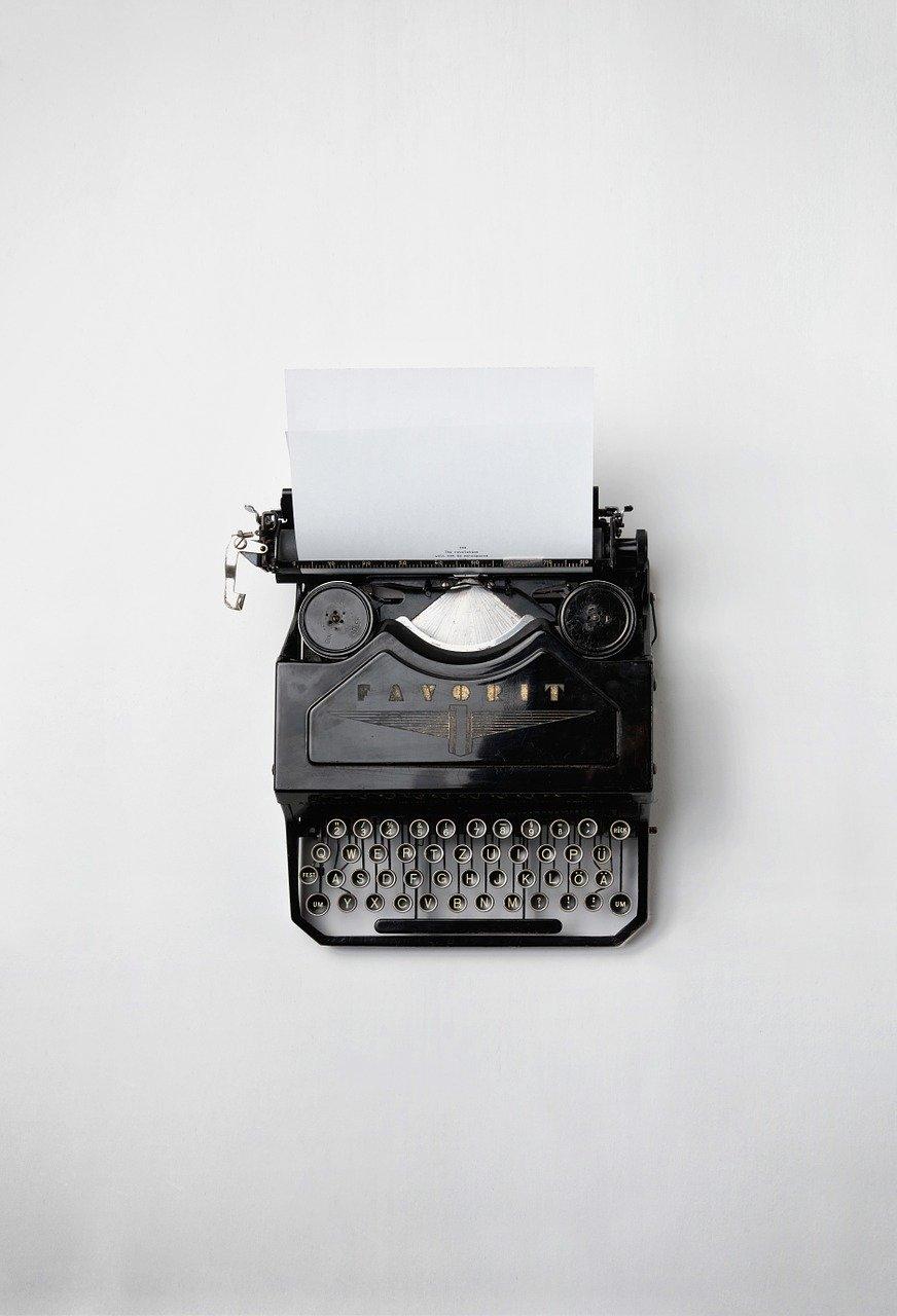 typewriter, retro, vintage